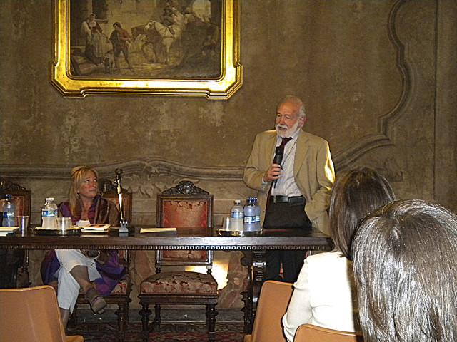 I miei sogni son come conchiglie presentato a Casa Manzoni, Milano 2011