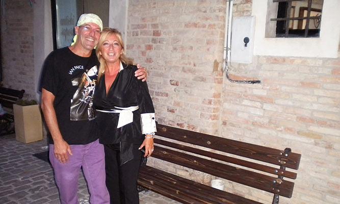 Non è Mina e i Modello 7 e 40 a Barbara (AN) sabato 3 settembre 2011 per ASSPEC, 3.09.11
