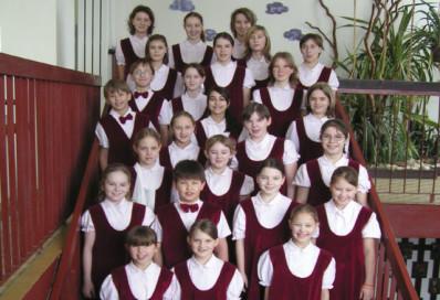 Il coro Skrivanek (Moravia)