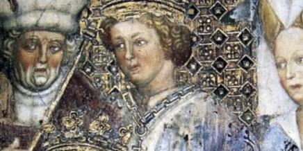 Regina Teodolinda, affresco Zavattari, Duomo di Monza