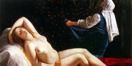Percorso Artemisia Danae, olio su rame nel 1612 ca, 40,5 x 52,5 cm., Saint Louis Art Museum, U.S.A.