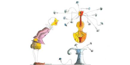 Progetto La Musica delle Parole, illustrazione di Adamo Calabrese
