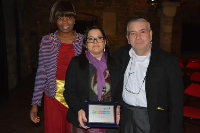 Genova - Febbraio 2015 - Zeroconfini riceve il Premio La Ragazza di Benin City 01