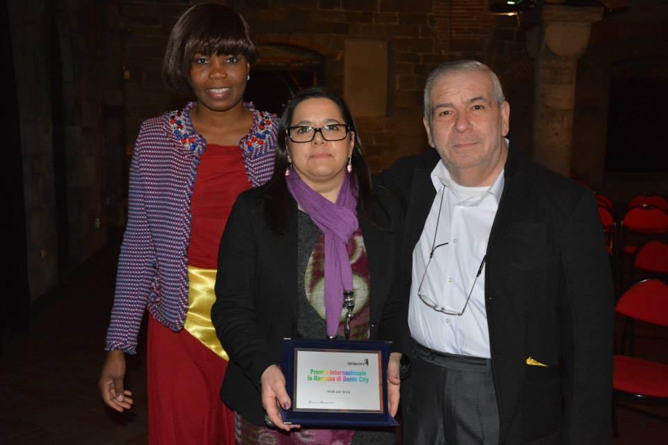 Genova – Febbraio 2015 – Zeroconfini riceve il Premio La Ragazza di Benin City 03