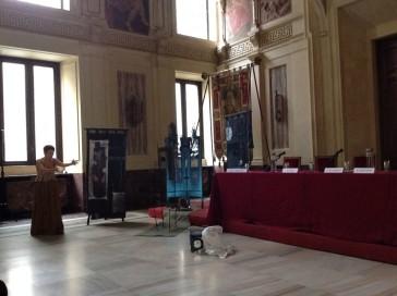Mido 2014.11.7 Mara Gualandris interpreta Artemisia Gentileschi