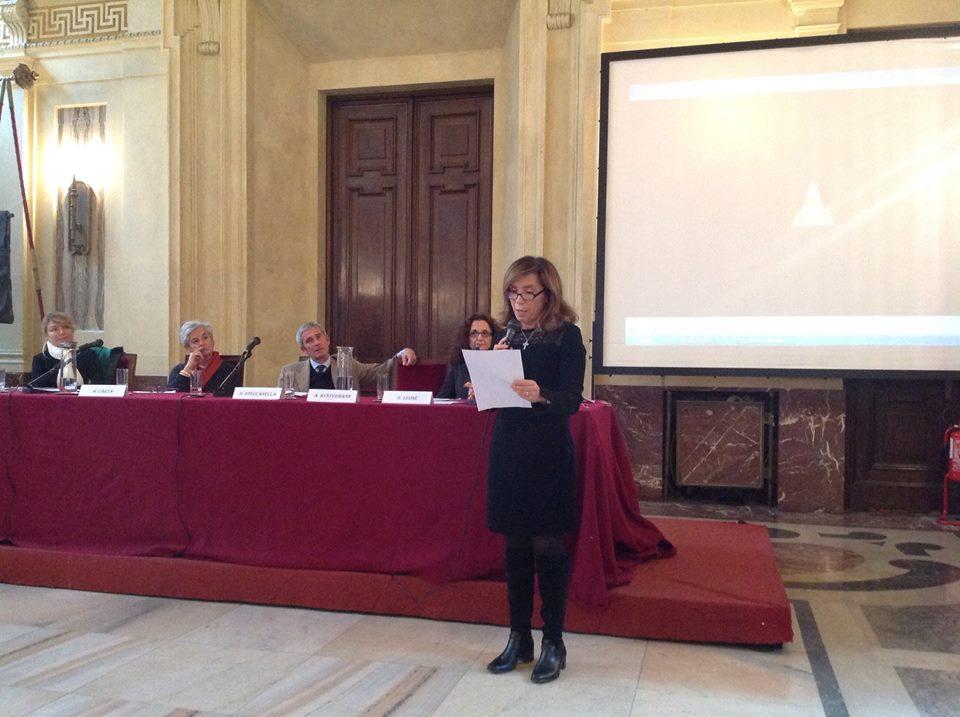 Mido 2014.11.7 Maria Alberta Mezzadri legge la lettera di Gabriella