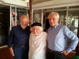 Poeti Fuori Strada - Ernesto Cardenal con il prof Masera e Marcello Cesa-Bianchi