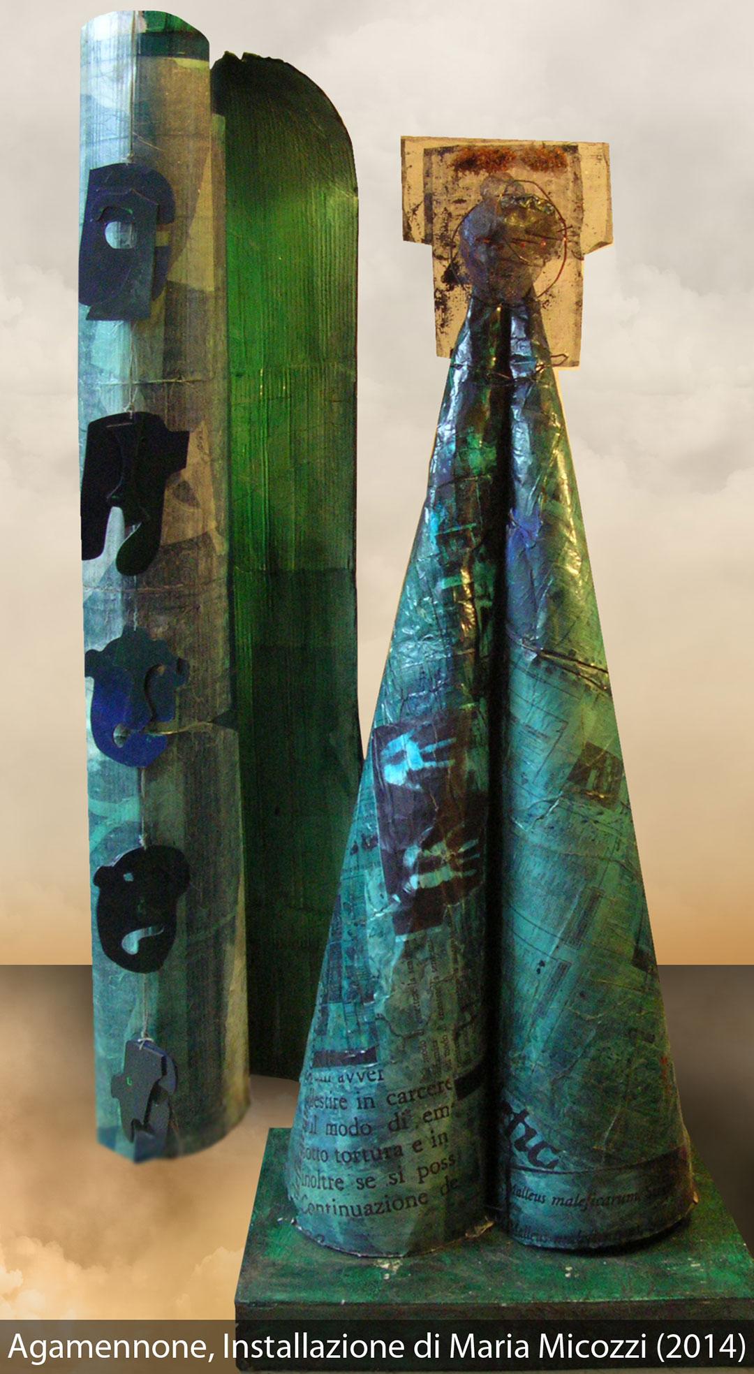 AGAMENNONE Installazione di Maria Micozzi, 2014
