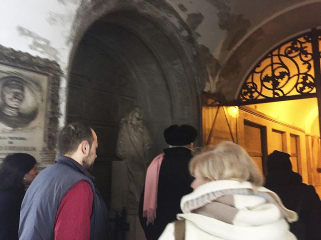 Il Processo nel Processo Milano 13.11.15 Con Dario Fo al cimitero Monumentale