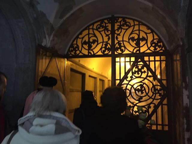Il Processo nel Processo Milano 13.11.15 con Dario Fo al cimitero 03