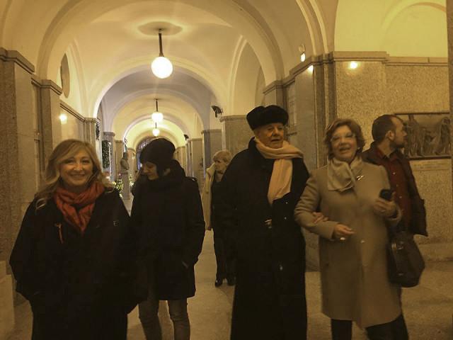 Il Processo nel Processo Milano 13.11.15 con Dario Fo al cimitero 04