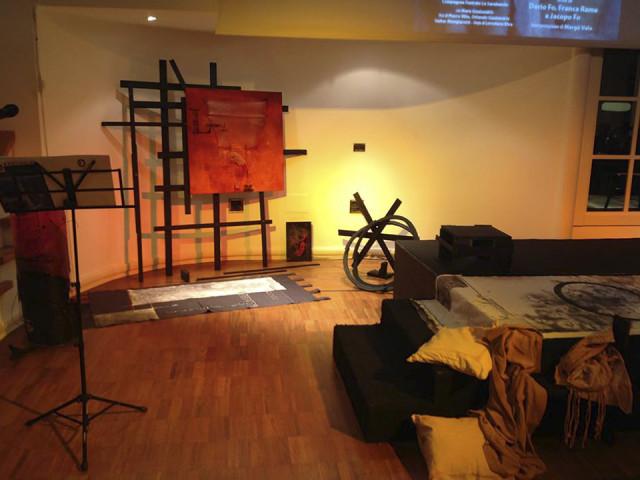 Il Processo nel Processo Monza 25.11.15 scenografie di Maria Micozzi