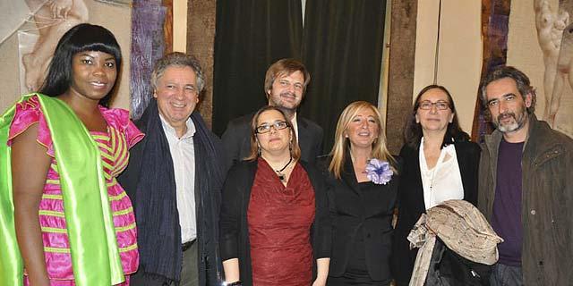 Milano 25 novembre 2013 – Palazzo Reale – Viole per Enza-16