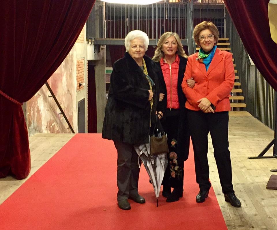 Antonetta Carrabs con Annalisa Bemporad e Caterina Mazzella Presentazione del libro di Antonetta Carrabs  RIBELLIONI