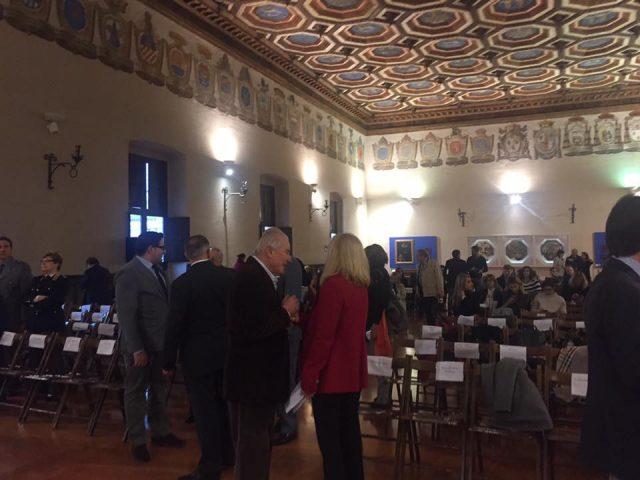 Sala Metaurense di Palazzo Ducale – Il Processo nel Processo -Pesaro- 25 11 2016