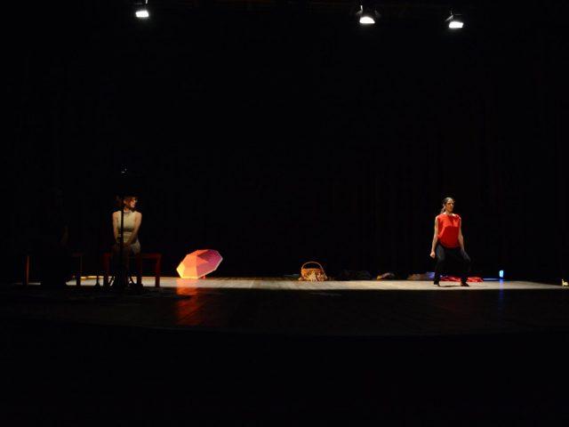 3 Meli Lippolis e la danzatrice Elena Nodari – Viole per Enza a Limbiate 10.3.17