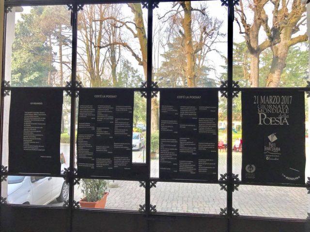 Poeti Fuori Strada Monza. Inaugurazione mostra poesie