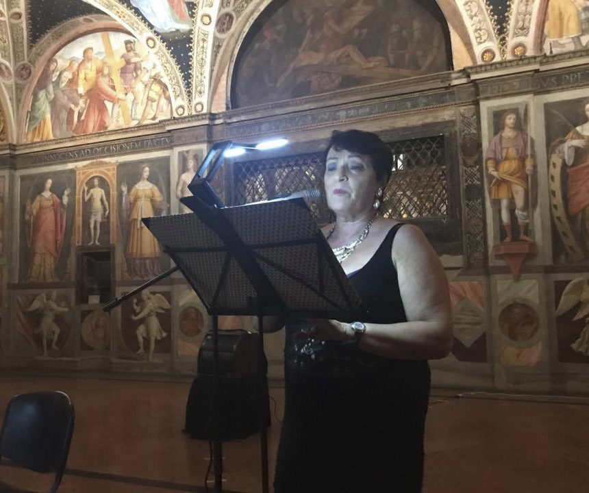 MP. Quintavalla per I Poeti per la Cultura di Pace