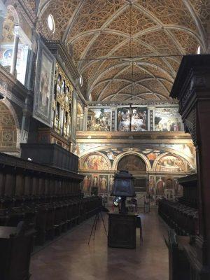San Maurizio Milano per I Poeti per la Cultura di Pace