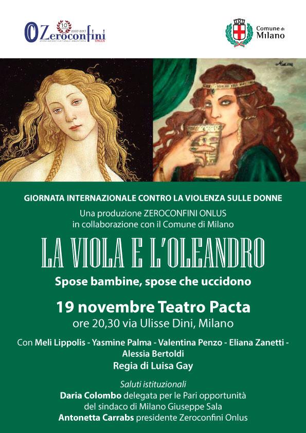 La Viola e l'Oleandro Locandina