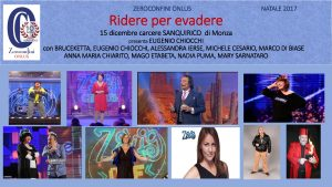 RIDERE PER EVADERE Locandina - Clicca per PDF